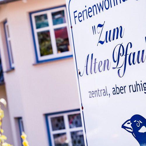 Ferienwohnung Zum alten Pfau im Ostseebad Göhren auf Rügen