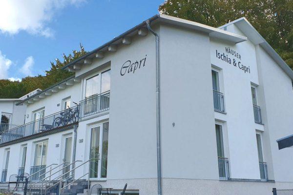 Haus Capri im Ostseebad Binz auf Rügen